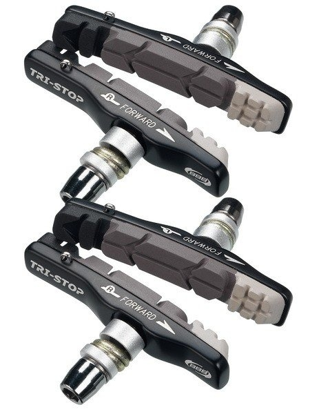 BBB Bremseklodser TriStop til MTB/Cross og V-Bremse