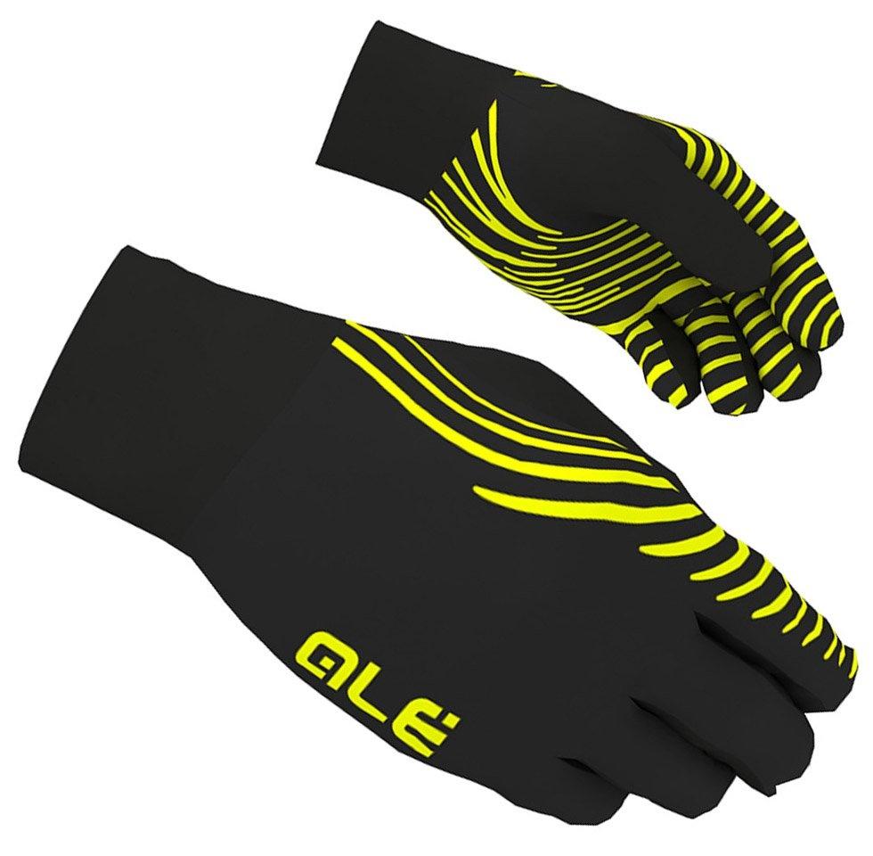 Alé Handske Spirale - sort/fluo