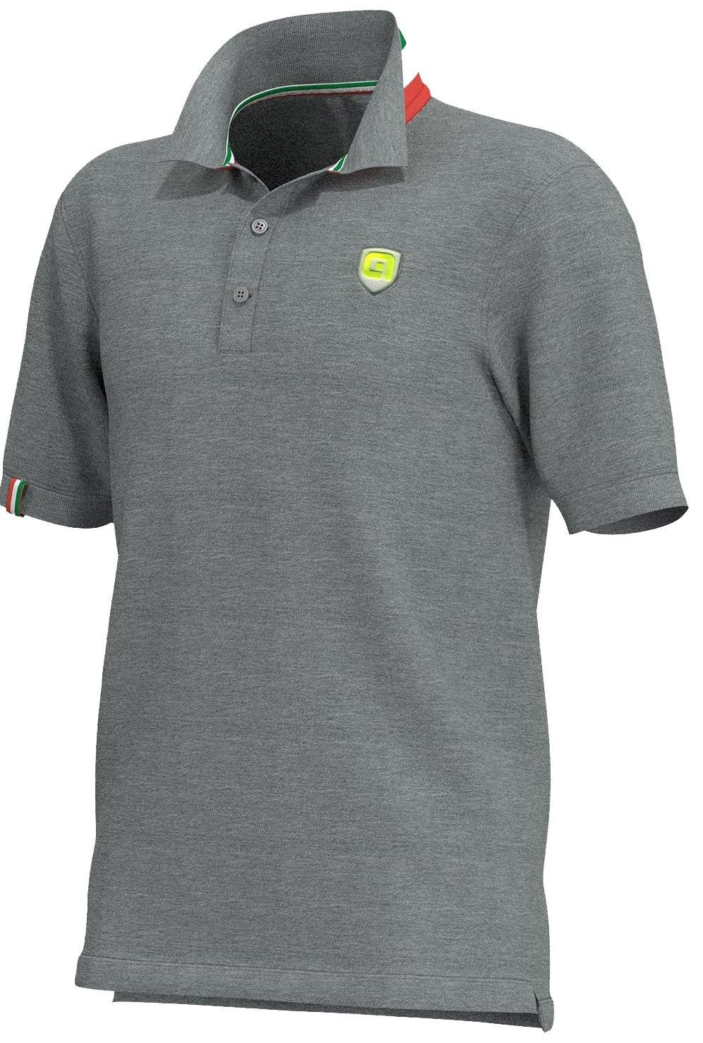 Alé Polo T-Shirt Men - Grå