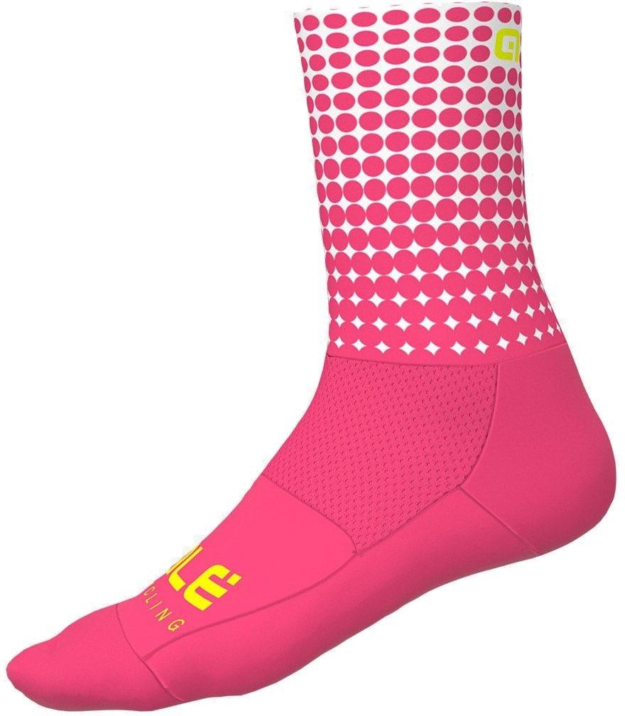 Alé Dots Sokker Sommer - pink