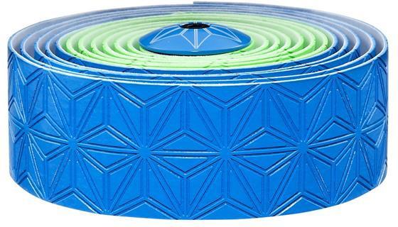 Supacaz Styrbånd Sticky KUSH Multi-Colored - Blå & Grøn