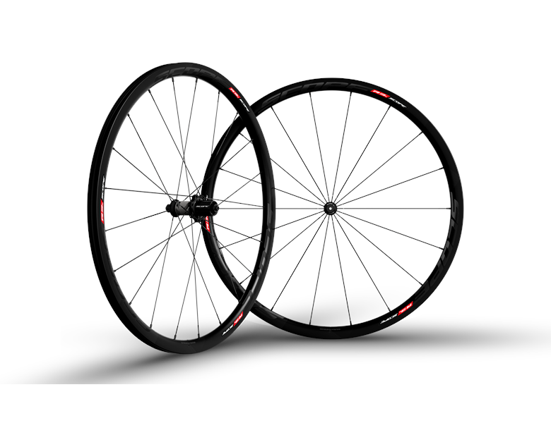 Scope R3C Carbon Hjulsæt - Sort