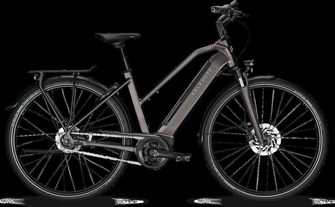 Kalkhoff Kalkhoff Image 5.B Advance Dame 2020 - Grå Cykler > Elcykler