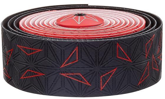 Supacaz Styrbånd Sticky KUSH Star Fade - Rød