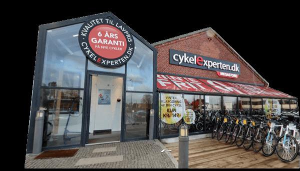 Over 120 elcykler i vores Megastore i København