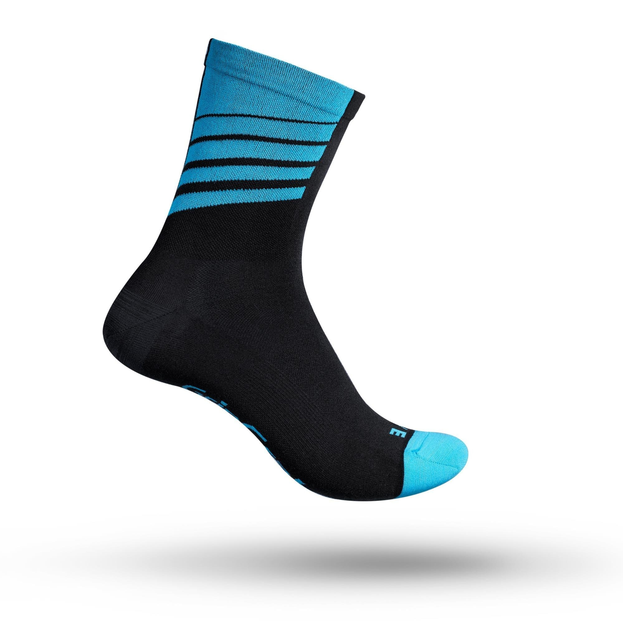Gripgrab Racing Stripes Sokker - Blå