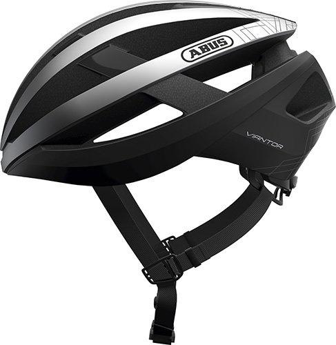 Abus Viantor - Gleam Silver  »  Helmet Size: S (51-55cm)