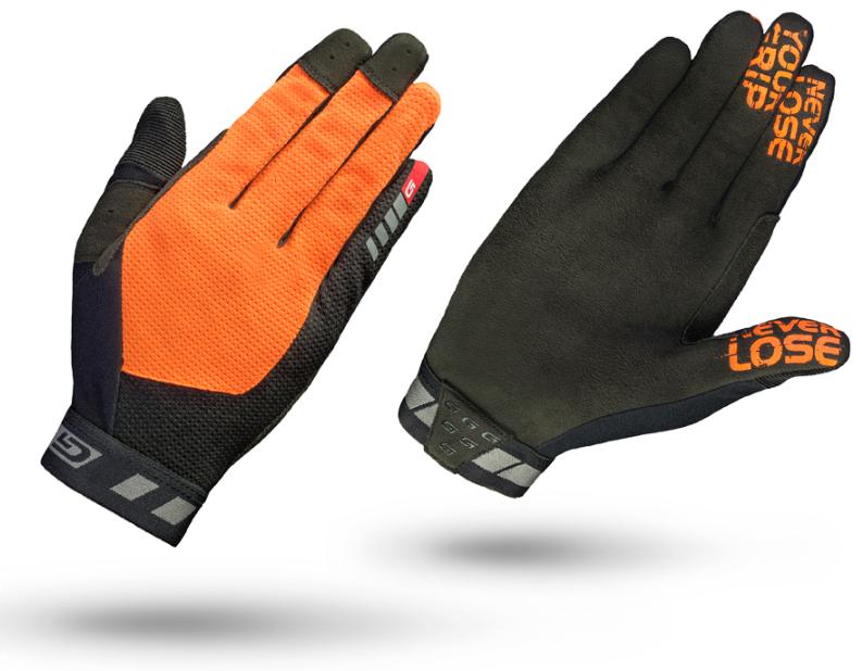 Gripgrab Vertical Insidegrip™ Cykelhandske, Orange (Eurobike Prisvinder!) Beklædning > Cykeltøj Til Herre