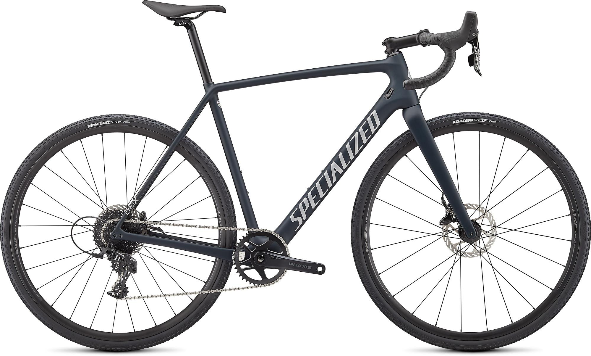 Specialized Crux 2021 - Blå/Grøn   cross-cykel