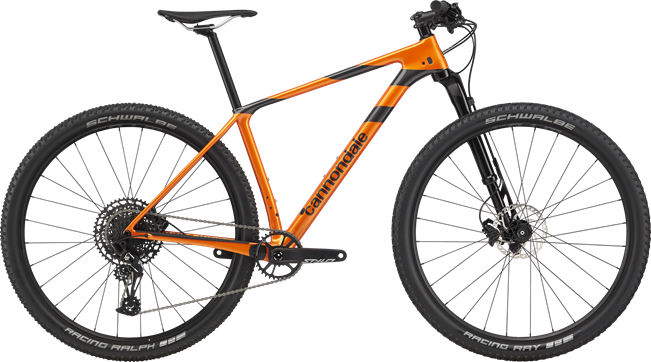 Cannondale F-Si Carbon 4 2020 - orange