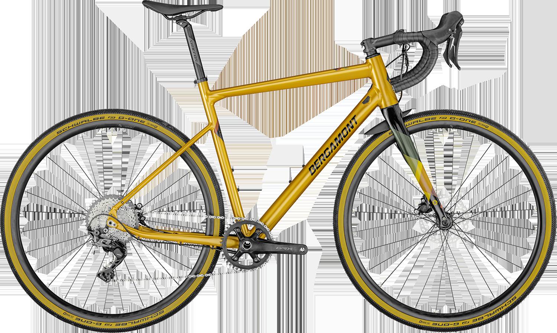 Bergamont Grandurance 8 2021 - Gul/Orange