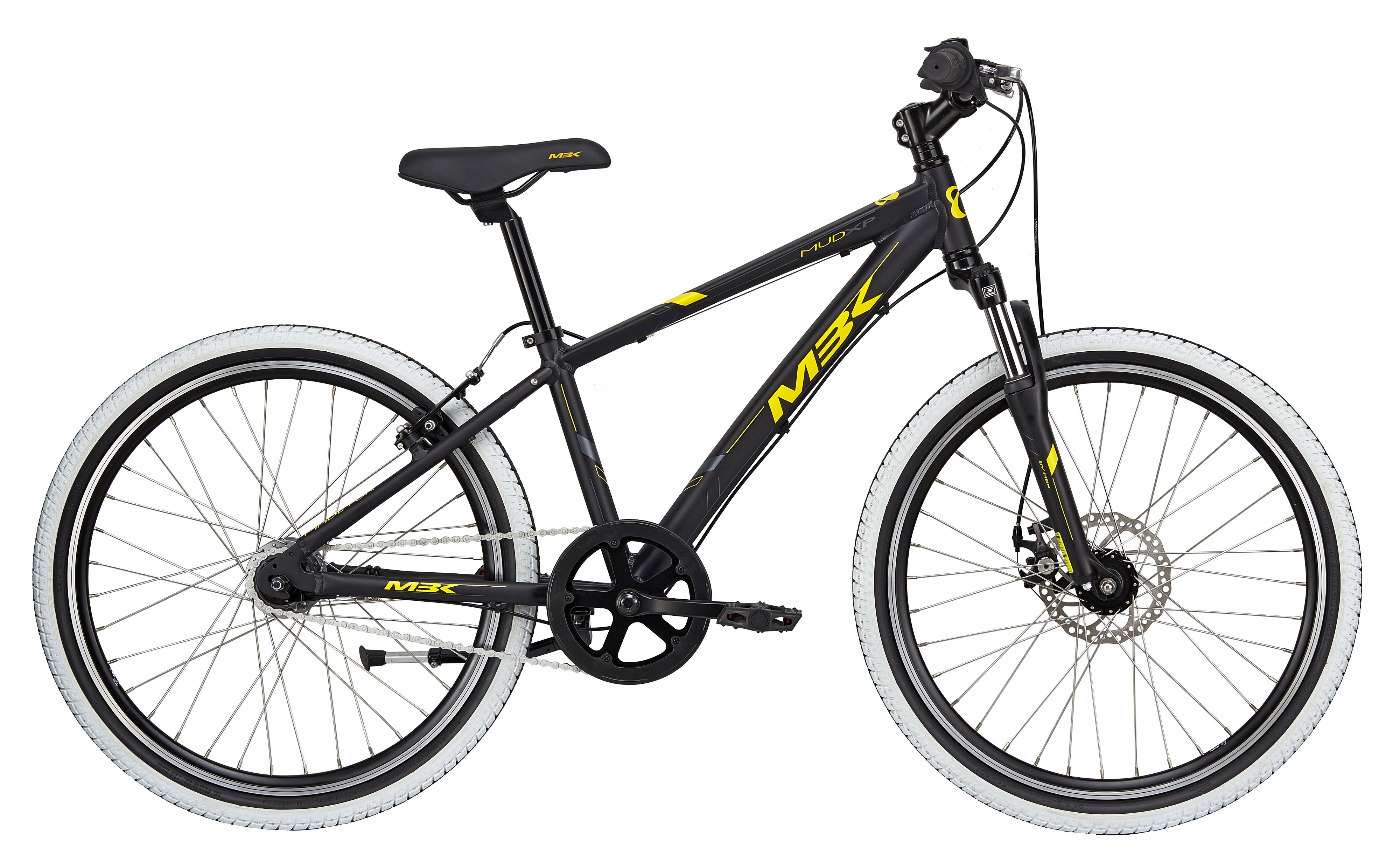 "Mbk Mud Xp Dreng 7g 24"" 2019 - Sort"