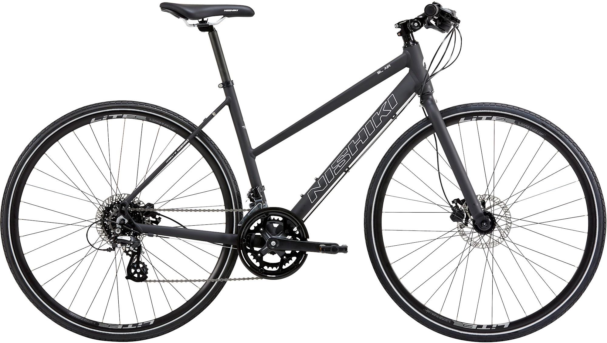 Nishiki Nishiki Sl Air Dame 2021 - Sort Cykler > Damecykler