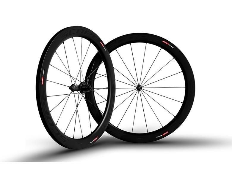 Scope R5C Carbon Hjulsæt - Sort
