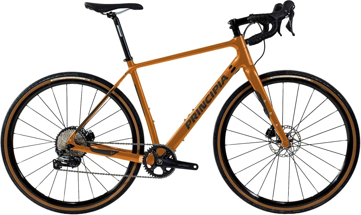 Principia Gravel Carbon GRX RX600 2x11 2021 - Orange