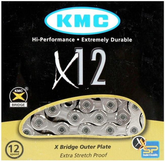 Køb KMC 11/128″ 12V 126 Links Cykelkæde